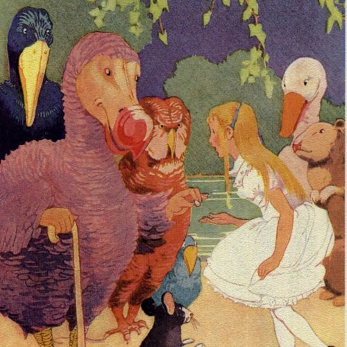 Alice in Wonderland Crossword Puzzle