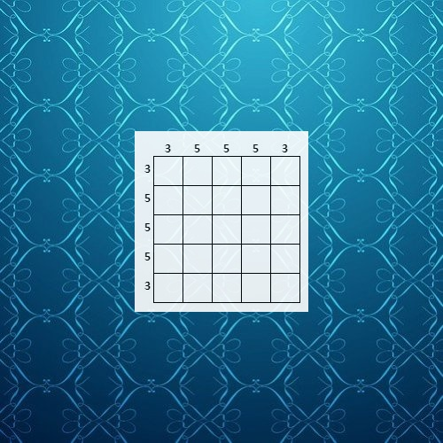 Nonogram Puzzle: Cross