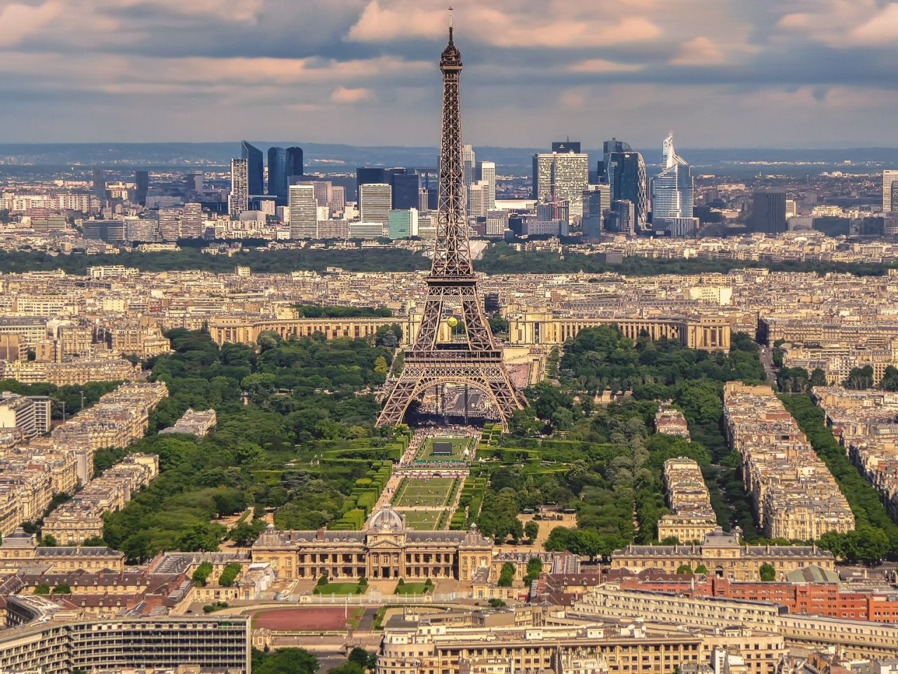 Panoramic View of Paris jigsaw puzzle