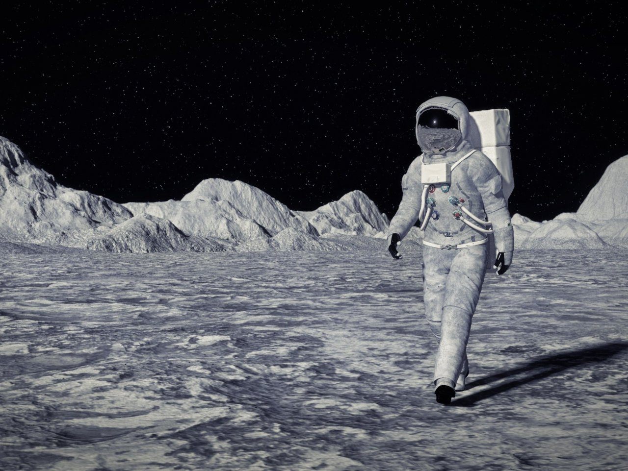 Man on the moon jigsaw puzzle