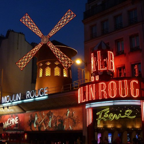 Moulin Rouge jigsaw puzzle