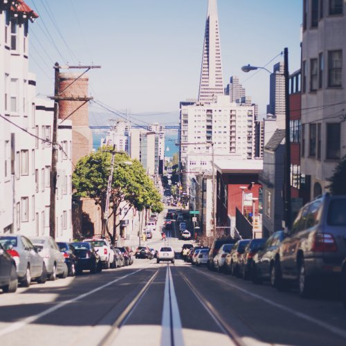 San Francisco Streets jigsaw puzzle