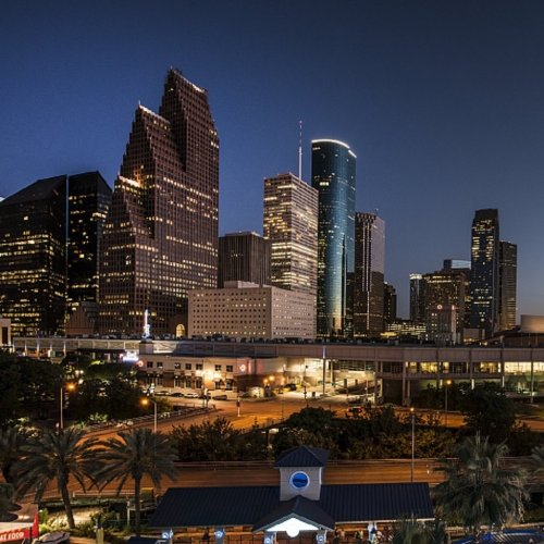 Night View of Houston jigsaw puzzle