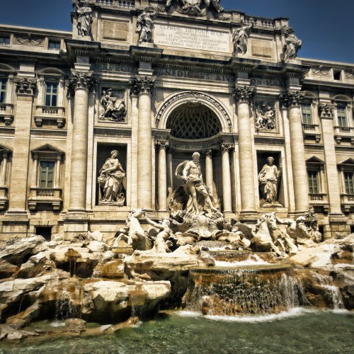 The Trevi Fountain jigsaw puzzle
