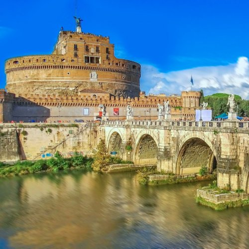 Castel Sant'Angelo in Rome jigsaw puzzle