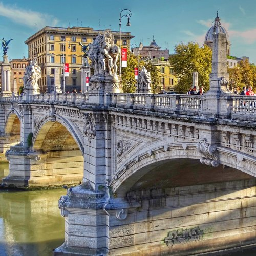 Ponte Sant'Angelo jigsaw puzzle