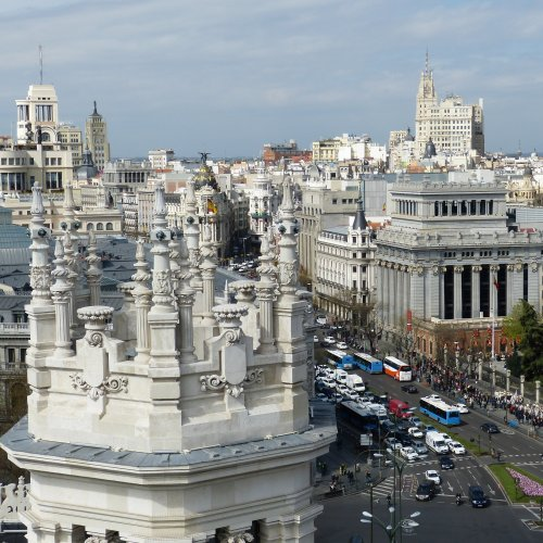 Panoramic View of Madrid jigsaw puzzle