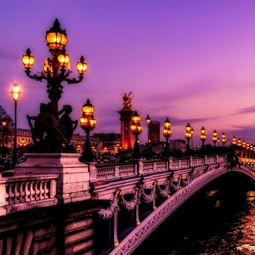 The Pont Alexandre III jigsaw puzzle