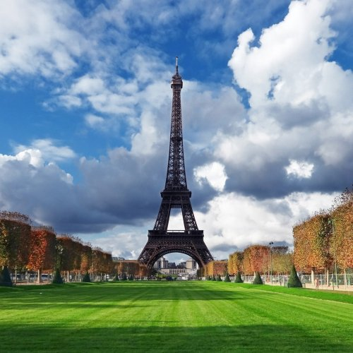 The Eiffel Tower in Paris jigsaw puzzle