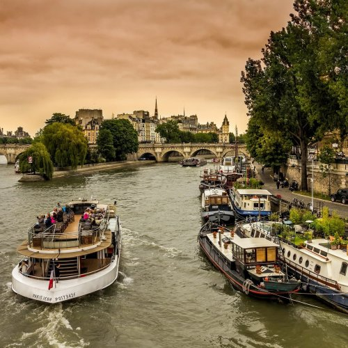 The Seine River jigsaw puzzle