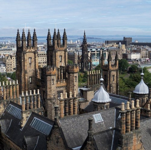 The rooftops of Edinburgh jigsaw puzzle