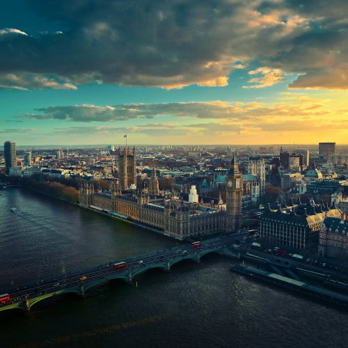 Panoramic view of London jigsaw puzzle