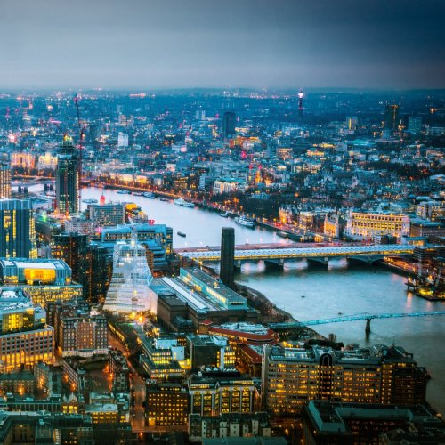 Night view of London jigsaw puzzle