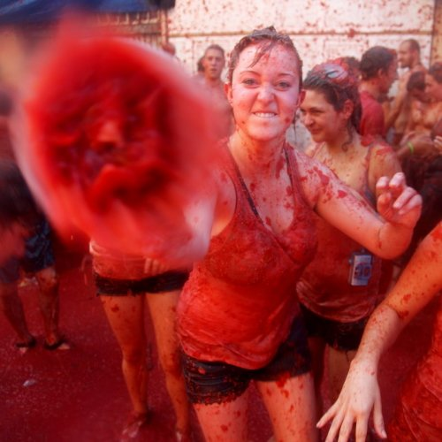 Tomatina Quiz: questions and answers