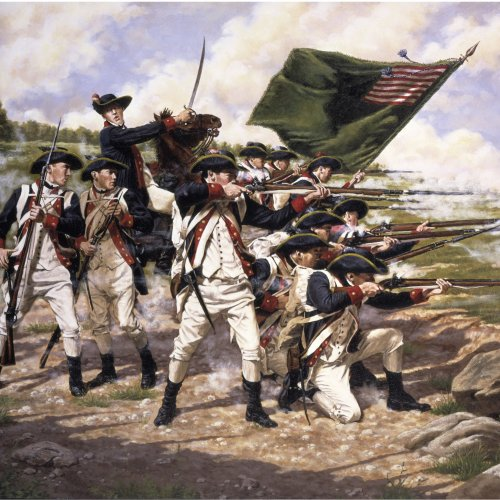 American Revolutionary War Quiz: questions and answers