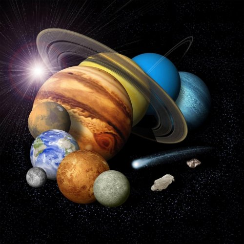 Planets Quiz: questions and answers